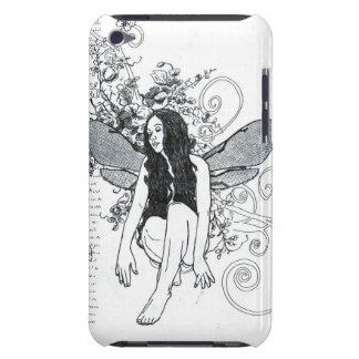 "E iPod Case ""Scroll Fairy""  Doodle Art"