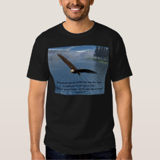Eagle with Scripture Shirt
