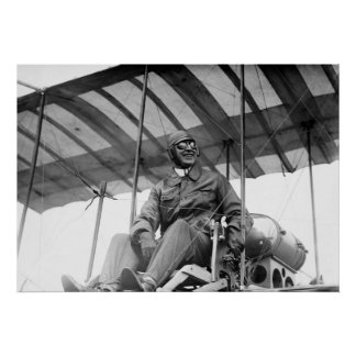 Early Aviator, 1910 Poster