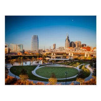 Early Morning Over Nashville, Tennessee, USA 2 Postcard