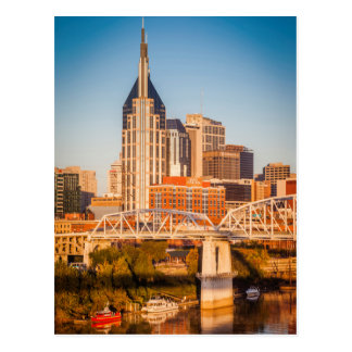 Early Morning Over Nashville, Tennessee, USA 3 Postcard