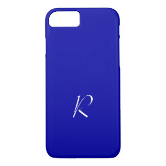 Earth Blue Monogram iPhone 7 cover