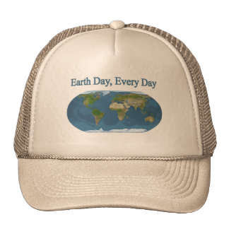 Earth Day Every Day Cap