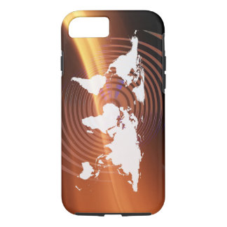 Earth world Globalization iPhone 7 Tough iPhone 7 Case