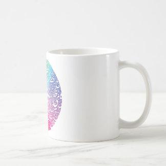 earthtypo-color basic white mug