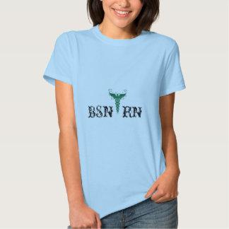 Earthy Caduceus BSN RN T-shirt