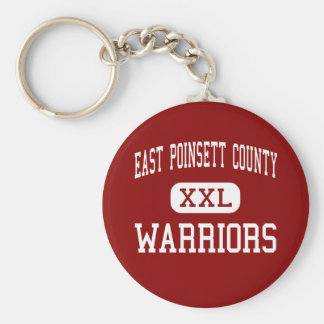 East Poinsett County - Warriors - Junior - Lepanto Basic Round Button Key Ring