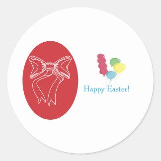 easter-3 round sticker