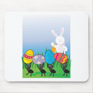 Easter Ants Mouse Pad