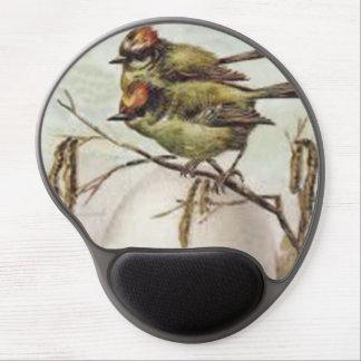 Easter Egg Flower Bird Gel Mouse Pad