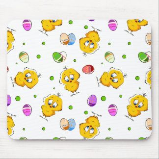 Easter Eggs & Baby Chicks Mouse Pad