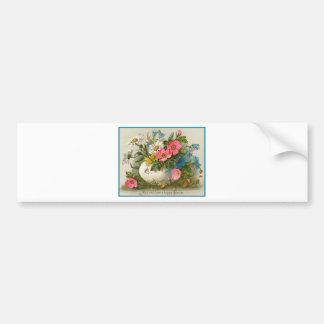 Easter Flowers Bumper Sticker