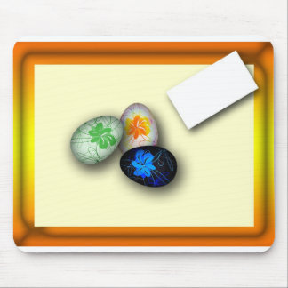 Easter many-colored of eggs mouse pad