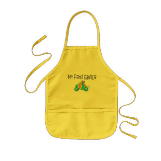 Easter My First Easter (Egg Car) Kids Apron
