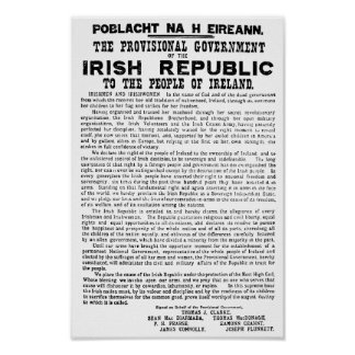 Easter Rising Proclamation of the Irish Republic Poster