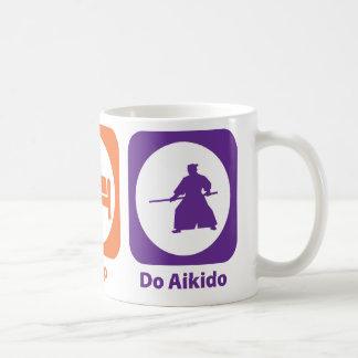 Eat Sleep Do Aikido Basic White Mug
