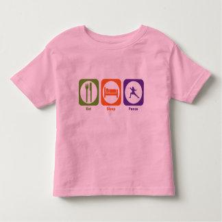 Eat Sleep Fence Toddler T-Shirt