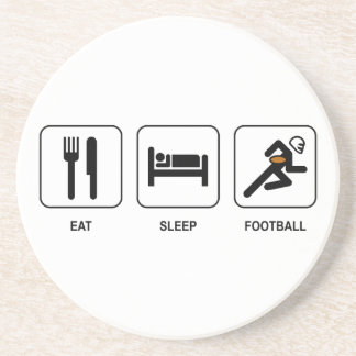 Eat Sleep Football Coaster