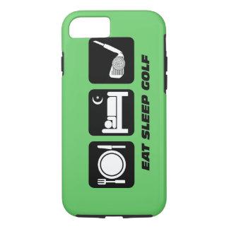 eat sleep golf iPhone 7 case
