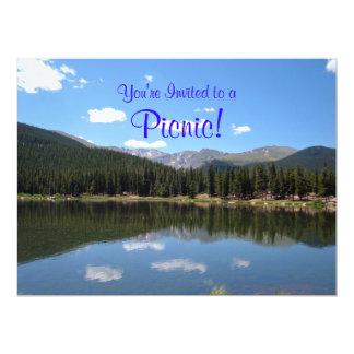 Echo Lake Mt Evans Colorado 17 Cm X 22 Cm Invitation Card