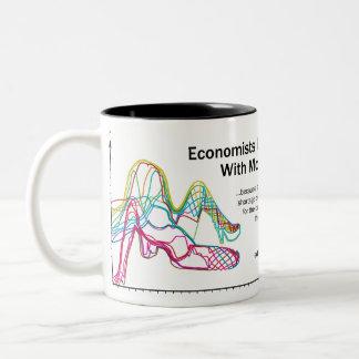 Economists Do It With Models Two-Tone Mug