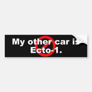 Ecto-1 Bumper Sticker