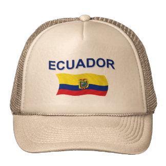 Ecuador Wavy Flag Cap