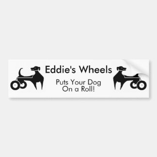 Eddie's Wheels Bumper Sticker