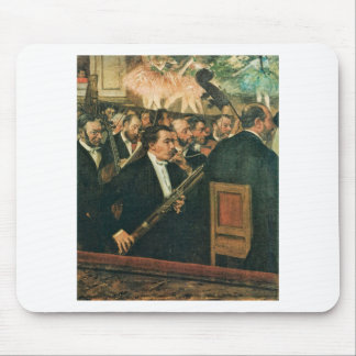 Edgar Degas The Orchestra of the Opera Mouse Pad