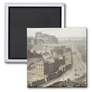 Edinburgh, from Calton Hill, from 'A Voyage Around Square Magnet