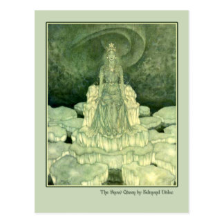 Edmund Dulac Illustration from The Snow Queen Postcard