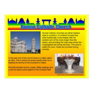 Education, Religion, Roman Catholic Church Postcard