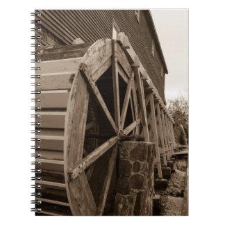 Edwards Water Wheel Sepia Notebooks