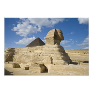 Egypt, Giza. The great Sphynx rises above the 2 Art Photo