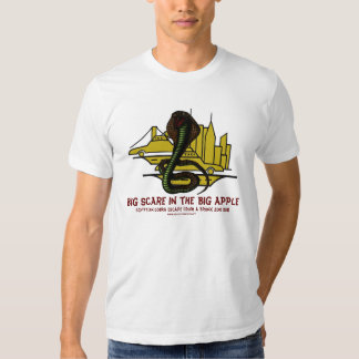 Egyptian cobra escape from Bronx zoo funny t-shirt