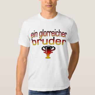 Ein Glorreicher Bruder Germany Flag Colors Tee Shirts