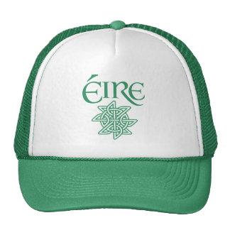 Éire Decorative Celtic Knot Pattern Irish Cap