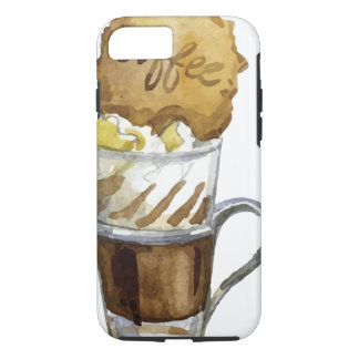 Eiskaffee Iced Coffee Drink iPhone 7 Case - Tough