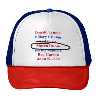 Elections 2016: pick your candidate! cap