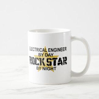 Electrical Engineer by Rock Star Basic White Mug