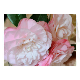 Elegant Camellia Flower Note Card