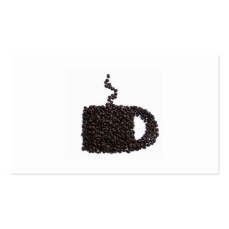 Elegant Coffee Modern Java Card Cup Mug Trendy Pack Of Standard Business Cards