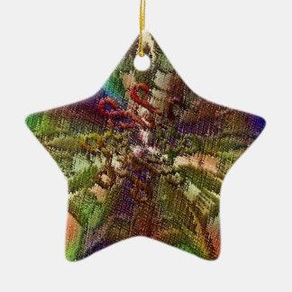 Elegant Design1 Star Ornament