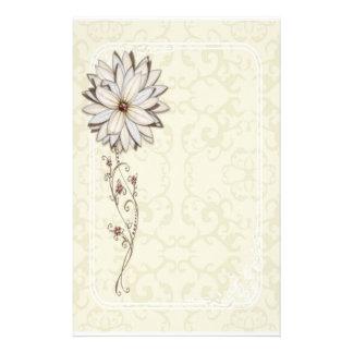 Elegant Floral Stationery