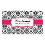 Elegant Professional Modern Damask Floral Pattern Pack Of Standard Business Cards