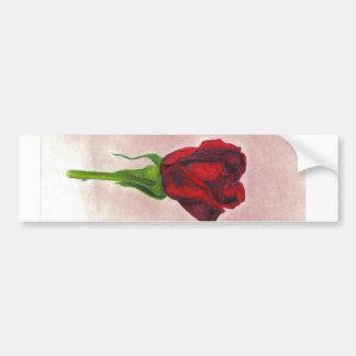 Elegant Red Rose by CricketDiane Bumper Sticker