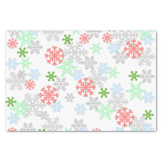 "Elegant Snowflakes 10"" X 15"" Tissue Paper"