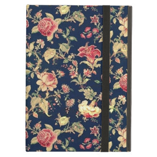 Elegant Vintage Floral Case Case For iPad Air