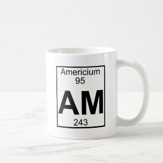 Element 095 - Am - Americium (Full) Basic White Mug