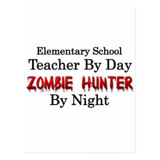 Elementary School Teacher/Zombie Hunter Postcard